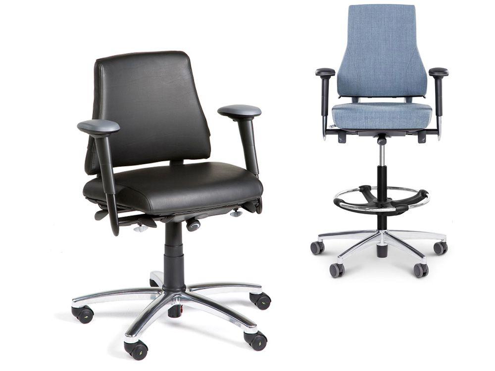 Industrie-, labo- en loketstoelen